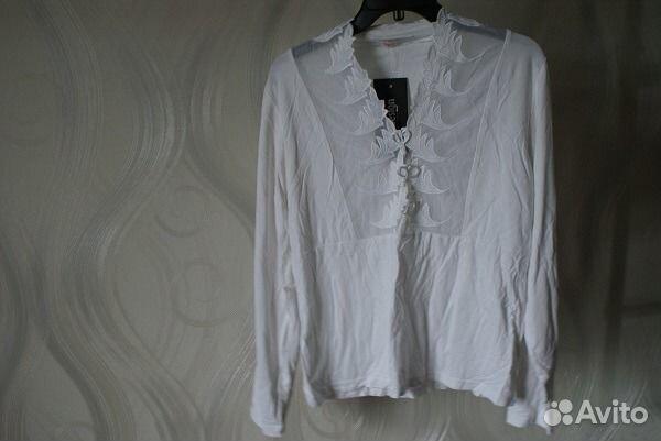 Блузка белая новая 89539290644 купить 1