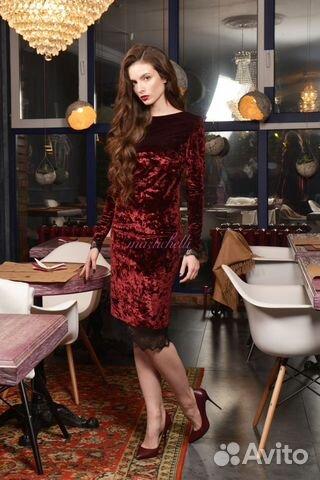 c661de52a6c Платье бархатное (велюровое) Martichelli - Личные вещи