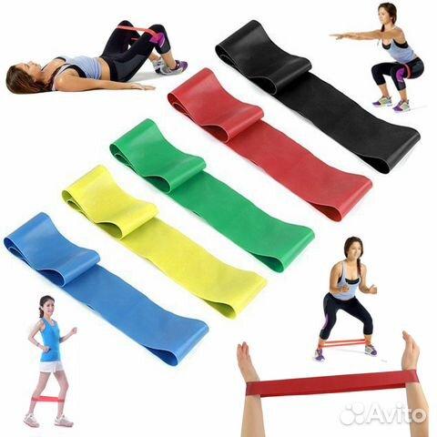 Резинки для фитнеса 5 шт. купить в Успенском