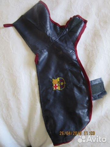 Одежда для собаки фк Барселона