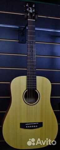 Акустическая гитара с чехлом Cort Earth Mini OP купить 1