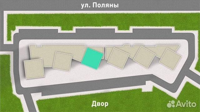 2-к квартира, 56 м², 21/31 эт.