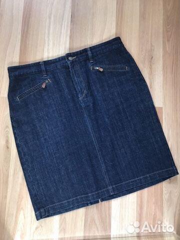 9f799f7d467 Юбка карандаш джинс Ralph Lauren 52-54 размер