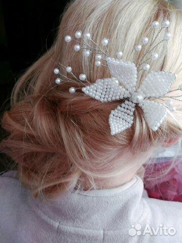 3f2426a4028c Шпилька для волос свадебное украшение