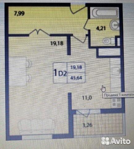 Продается однокомнатная квартира за 2 850 000 рублей. Московская обл, г Раменское, мкр Солнечный, ул Лучистая, д 5.