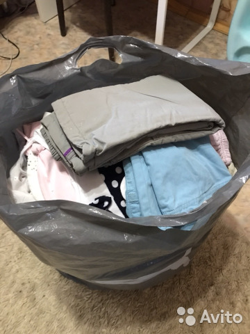 Большой пакет детской одежды для девочки  9a70e822a3859