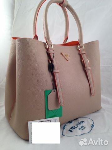 cf9103dc2c69 Женская кожаная сумка Prada арт.012-5 | Festima.Ru - Мониторинг ...