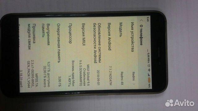 Xiaomi Redmi 4x 3 32 Kupit V Bryanskoj Oblasti Na Avito Obyavleniya