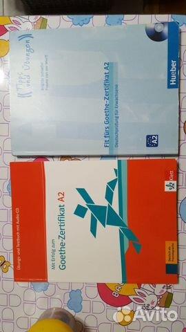 учебник немецкого языка Goethe Zertifikat A2 купить в москве на