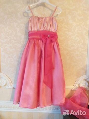 a2b6abe9847796b Платье нарядное для девочки купить в Московской области на Avito ...