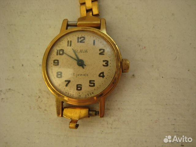 Часы женские Слава на ходу купить в Омской области на Avito ... 9533daf836049
