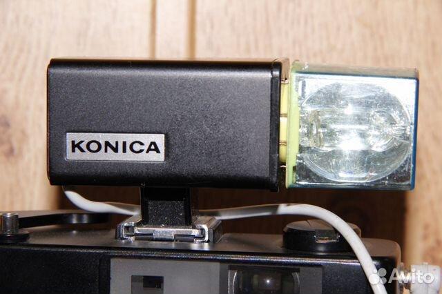 Винтажная вспышка Konica на магниевых кубиках 89052471031 купить 2