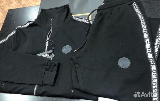 ca0768ffecc1 Dirk Bikkembergs Black мужской спортивный костюм купить в Москве на ...