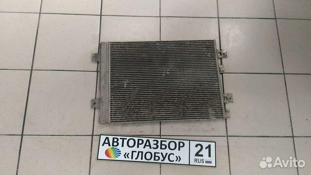 Радиатор кондиционера Рено Логан