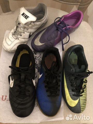 4ef34ef1 Бутсы, сороконожки, футзалки Nike 34 купить в Санкт-Петербурге на ...