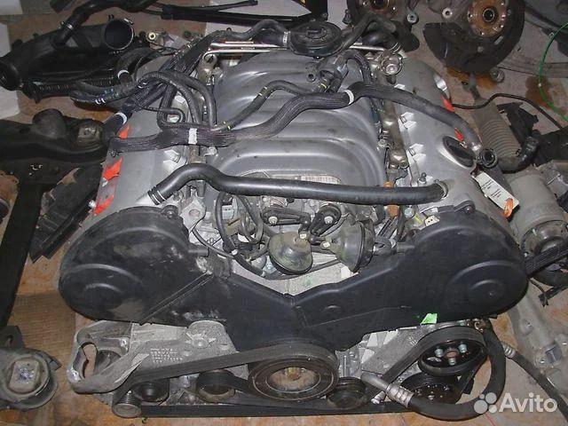 Двигатель BGK, BFM 4.2 на Audi A8