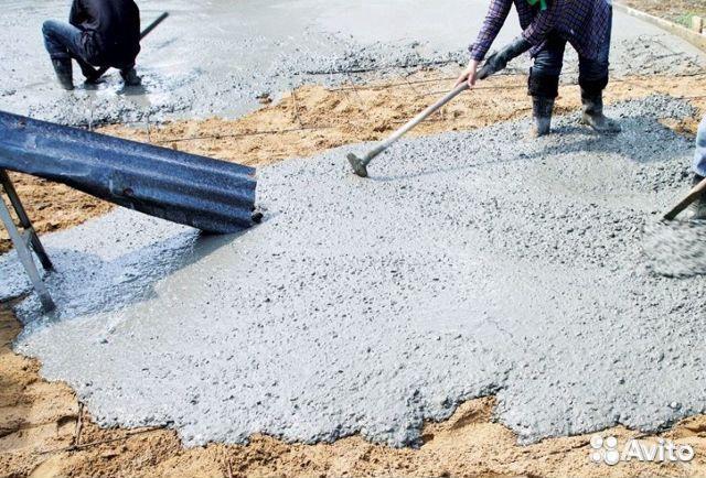 бетон производим
