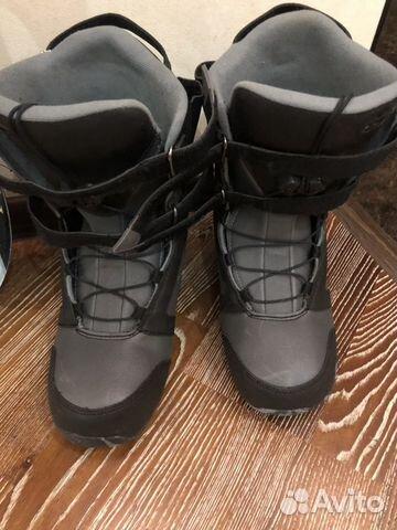 Сноуборд, крепление и ботинки 89128230061 купить 3