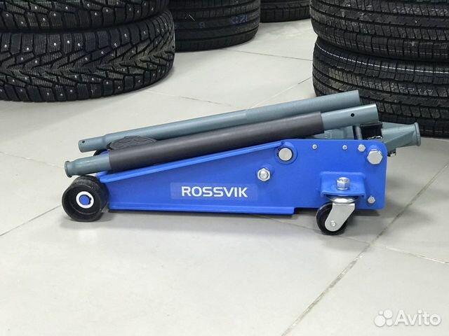 Домкрат подкатной гидравлический Rossvik V3 NEW 89536911143 купить 1