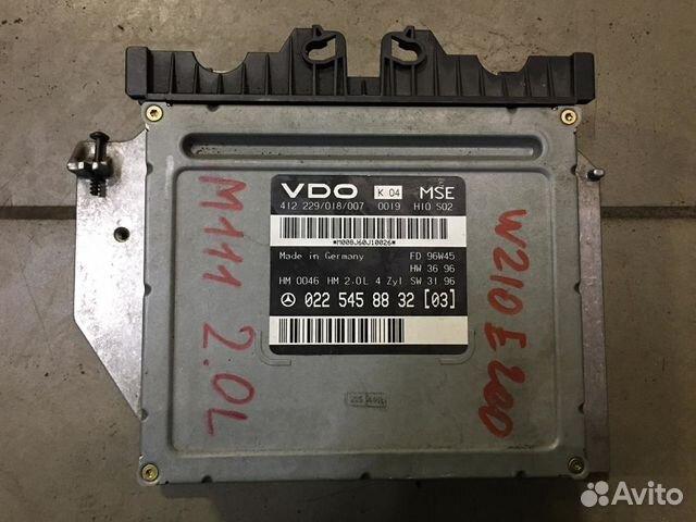 Блок управления двигателем M111 mercedes W202 W210 89872260290 купить 1