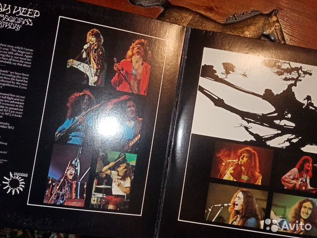 Виниловая пластинка Uriah Heep The Magicians Birth  89086152795 купить 2