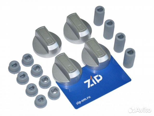 Ручки универсальные для плиты серебристые (комплек  89290812725 купить 1