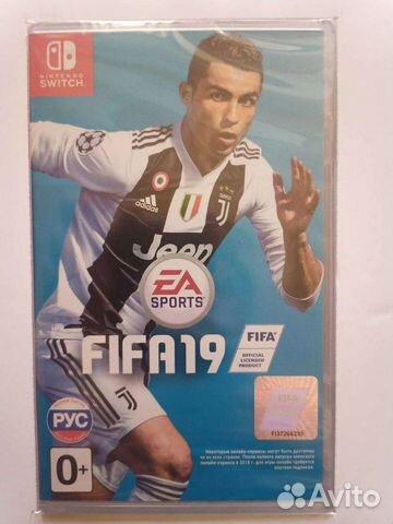 Fifa 19 nintendo switch  89279277540 купить 1