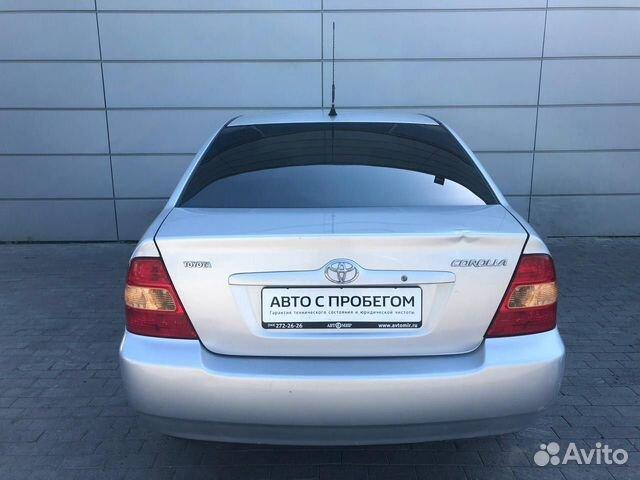 Toyota Corolla, 2003  83432716389 купить 6