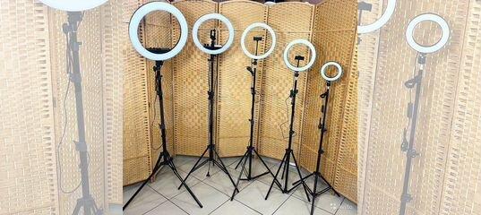 Кoльцeвая лампа + Пульт + Штатив + Держатель купить в Челябинской области | Личные вещи | Авито