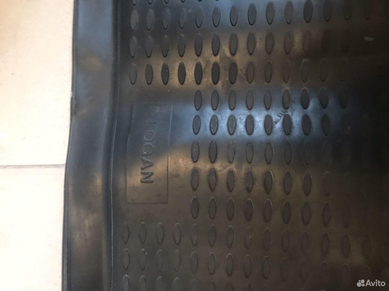 Коврик в багажник рено Логан
