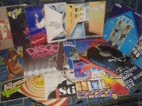 Коллекция пластинок конца прошлого века