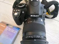 Nikon d3100 и sigma 17 70