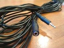 3,5 Jack удлинитель / кабель aux 10 метров