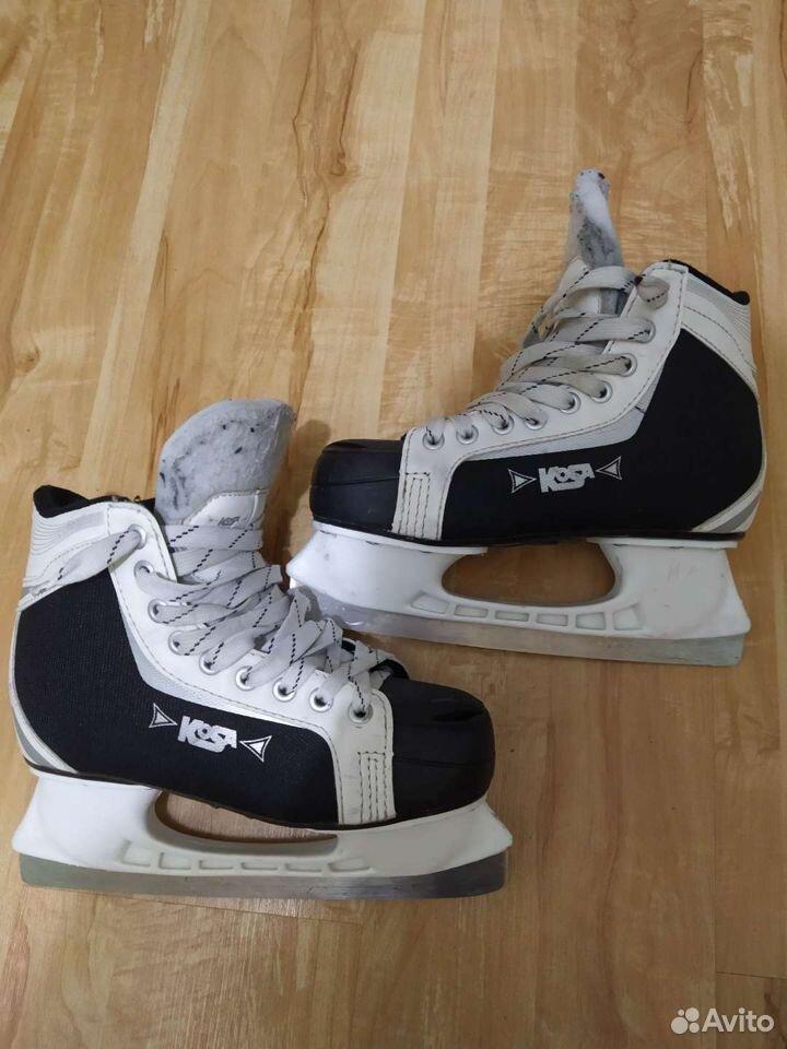 Коньки для хоккея с мячом  89042701811 купить 1