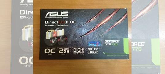 Видеокарта asus GeForce GTX 770 2Gb