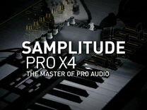 Секвенсор DAW Samplitude Pro X4