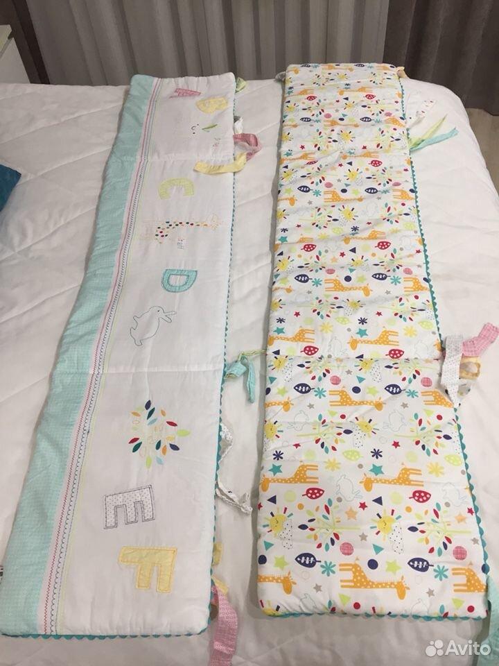 Набор постельного для детской кроватки Mathercare  89600628996 купить 2