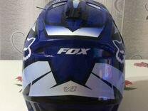 Продам кроссовый шлем FOX оригинал