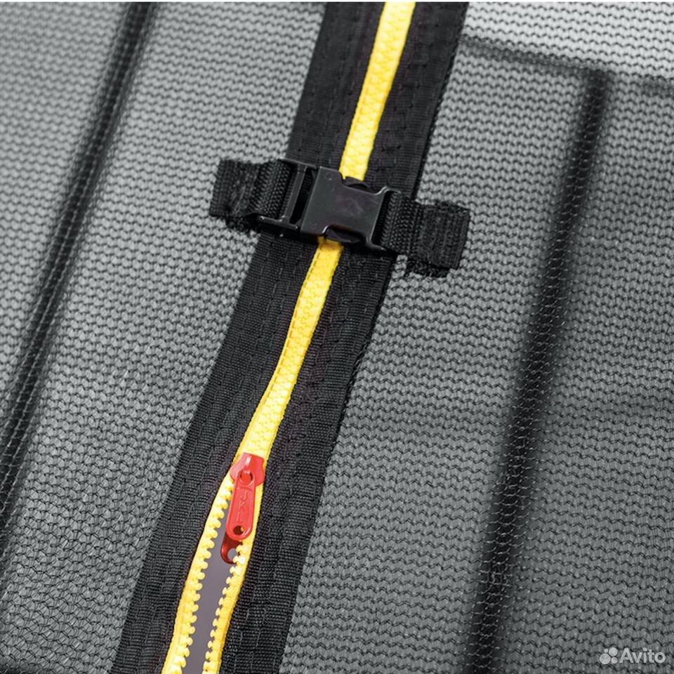 Батут DFC trampoline kengoo II С сеткой 12FT-BAS-B  89016083584 купить 5