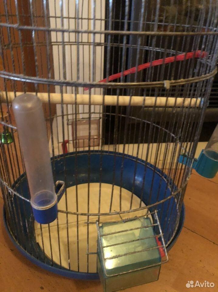 Большая клетка для попугая- птиц