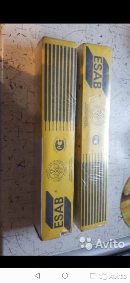 Электроды esab тройка. 5.3кг пачка  89103022318 купить 3