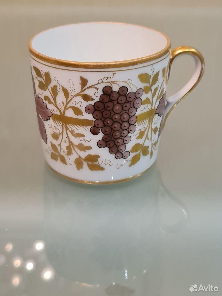 Антикварная чайная пара ифз  89013700120 купить 4