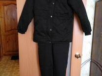 Зимний женский комплект куртка и комбенизон