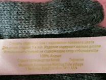 Перчатки для девочек цвет серый
