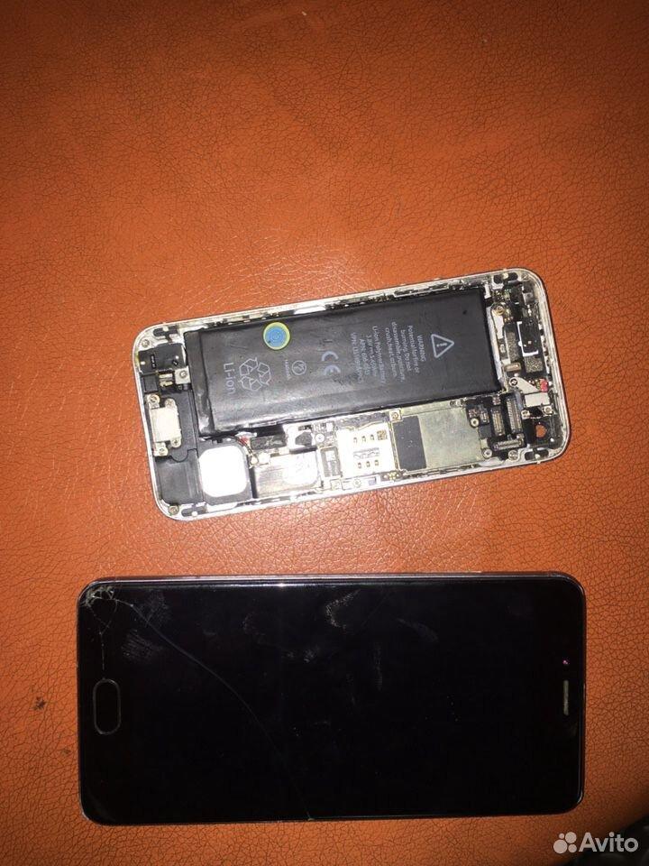 Meizu м 5s и iPhone 5