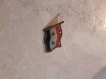 Значек флаг Сирия