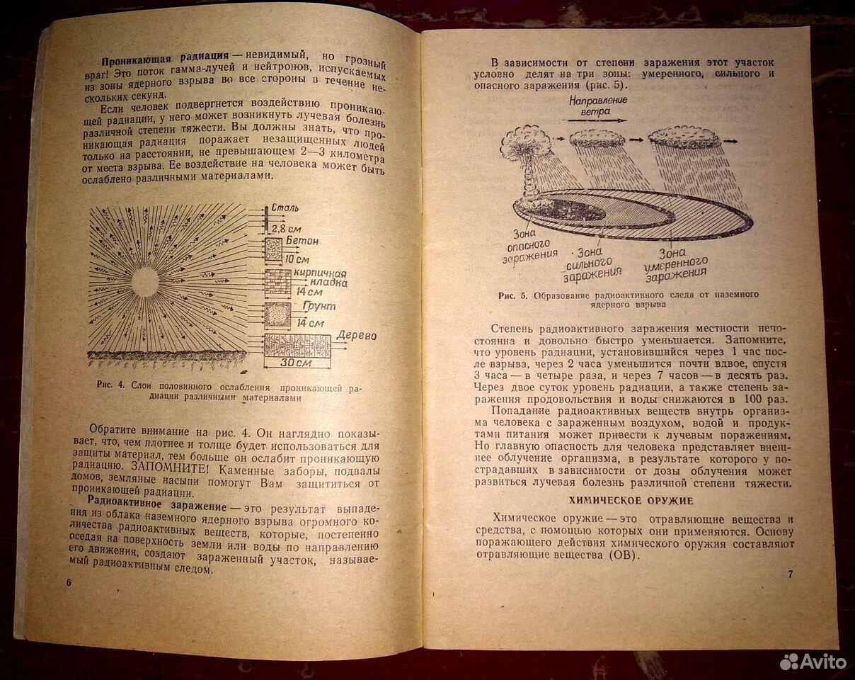 Книжки - памятки населению и военнослужащим СССР  89065131775 купить 10