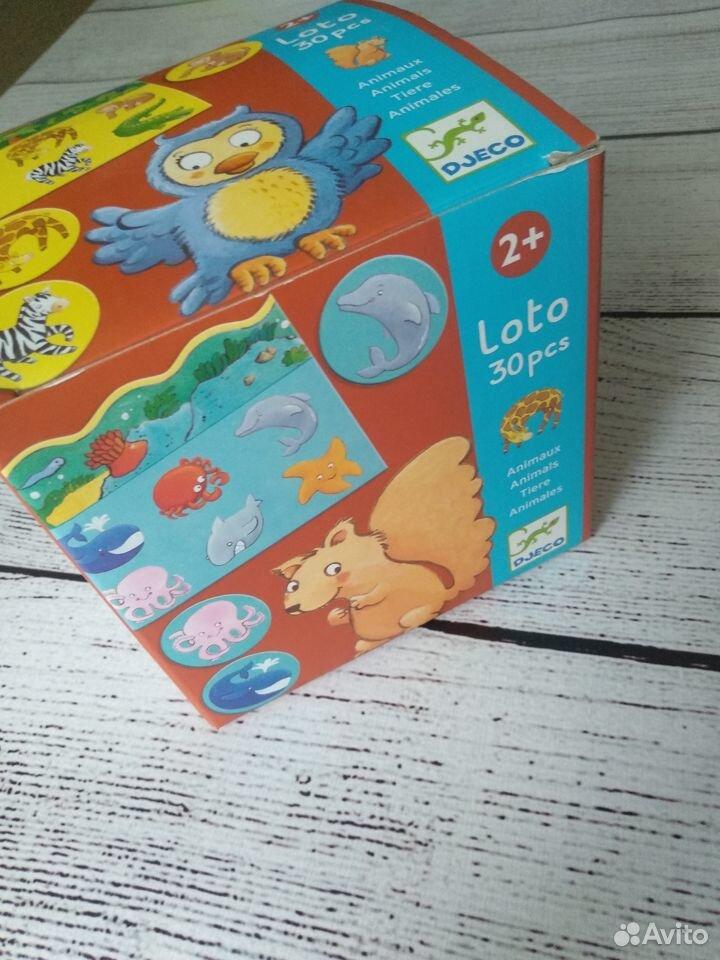 Лото Djeco Животные  89202653256 купить 1