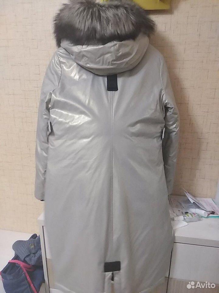 Куртка парка зимняя 44 размер  89176521707 купить 3