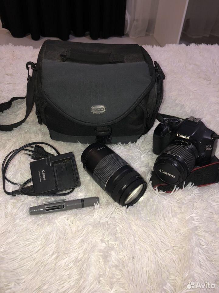 Фотоаппарат Canon 550D+объектив+сумка+очиститель д  89103263436 купить 1